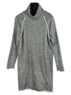 Issey Miyake Haat Embroidered Sweater Dress