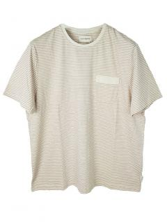 Oliver Spencer Envelope Stripe Pocket Tee