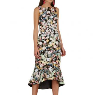 Peter Pilotto Cady Kia printed dress