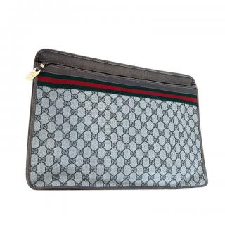 Gucci Supreme GG Portfolio Case