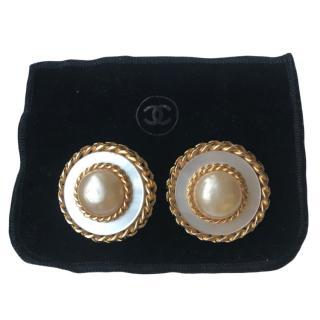 Chanel Vintage Baroque Earrings