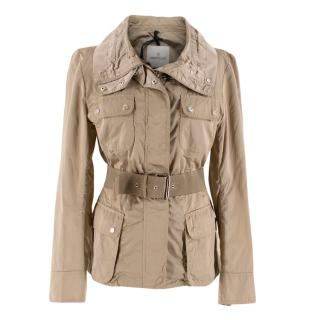 Moncler Lightweight Camel Nylon Jacket