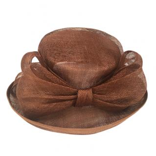 Mitzi Lorenz of London Vintage Brown Occasion Hat