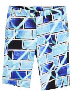 Issey Miyake Mens Printed Shorts