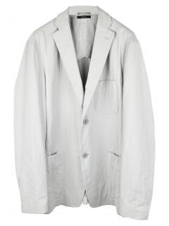 Issey Miyake Men's Grey Jacket