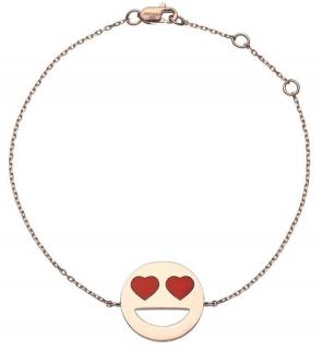 Prianka Chopra Heart Eyes Emoji Bracelet