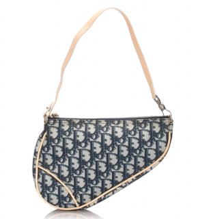 Dior Oblique Mini Saddle Shoulder Bag