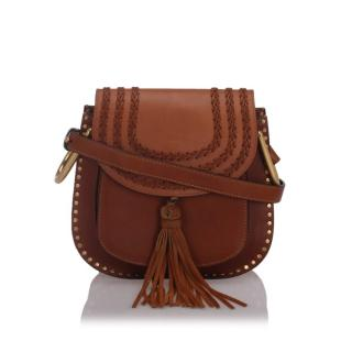 Chloe Leather Hudson Crossbody Bag