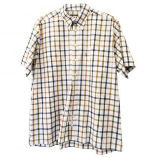 Barbour Tattersall Check Short Sleeve Shirt