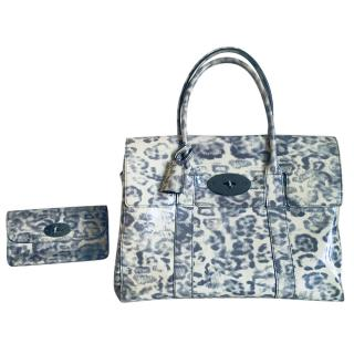 Mulberry Piccadilly Smudged Leopard Print Bayswater & Matching Purse