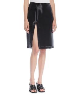 Helmut Lang Shayne Oliver Slit Skirt