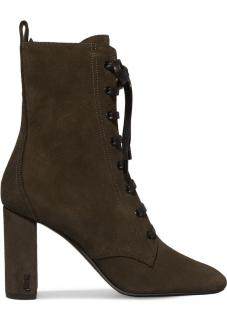 Saint Laurent Lou Army Ankle Boots