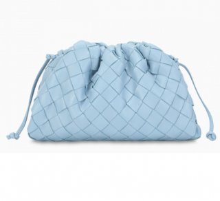 Bottega Veneta Ice Blue The Mini Pouch