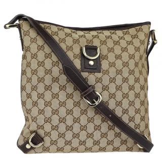 Gucci Large GG Abbey Messenger Bag