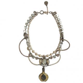 Reminiscence Paris Embellished Charm Necklace