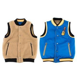 Stella McCartney Kids Rhubard Reversable Gilet