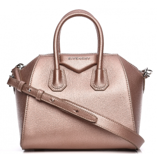 Givenchy Sugar Goatskin Mini Antigona in Light Pink