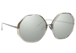 Linda Farrow Alona C5 Oversized Sunglasses