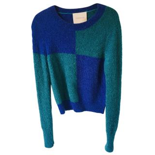 Roksanda Colourblock Boucle Jumper
