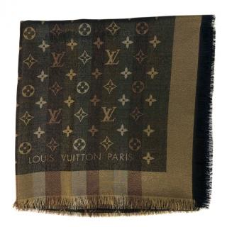 Louis Vuitton Monogram So Shine Shawl