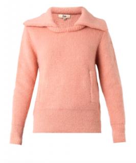 Rika Pink Mohair Knit Jumper