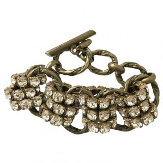 Aris Geldis Chunky Crystal Bracelet