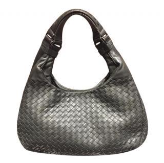 Bottega Veneta Grey Hobo Shoulder Bag
