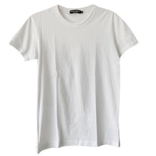 Dolce & Gabbana Men's White T-Shirt