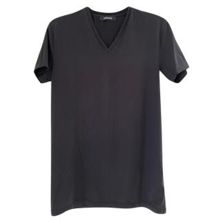 DSquared2 Black V-Neck T-Shirt