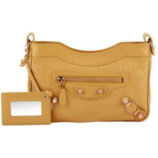 Balenciaga Yellow Giant 12 Gold Hip Bag