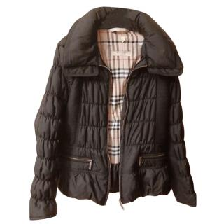 Burberry Ruched Quilted Puffer Jacket