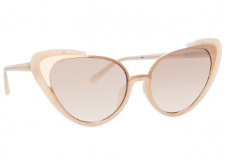 Linda Farrow Khira C6 Cat Eye Sunglasses