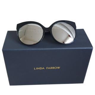Linda Farrow oversized cat eye sunglasses
