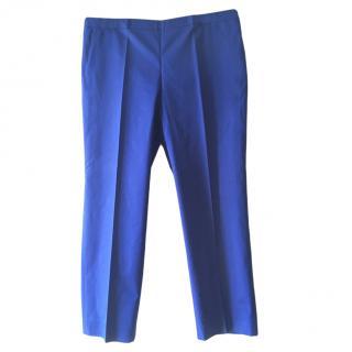 Cacharel Blue Straight Leg Pants