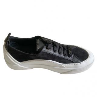Jimmy Choo Suede & Leather Sneakers