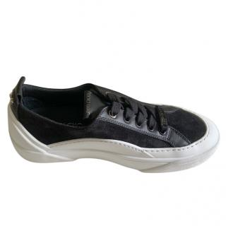 Jimmy Choo Suede & Leather Sneakers
