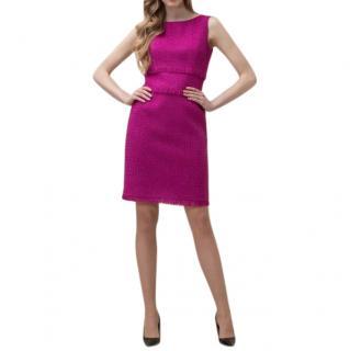 Luisa Spagnoli Pink Teed Lurex  Dress