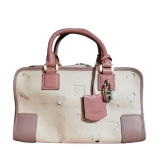 Loewe Limited Edition Cherry Blossom Amazona Tote Bag