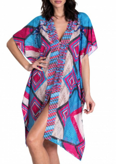 Pin-Up Stars Geometric Print Kaftan