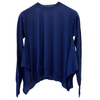 Stella McCartney Blue Virgin Wool Jumper