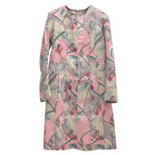 Marni Floral Patchwork Print Dress