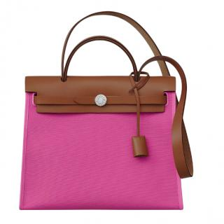 Hermes Magnolia Herbag Zip 31 Shoulder Bag