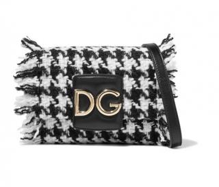 Dolce & Gabbana Tweed Millennials shoulder bag