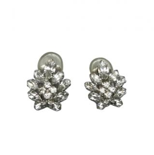 Dior VIntage Art Deco Crystal Earrings
