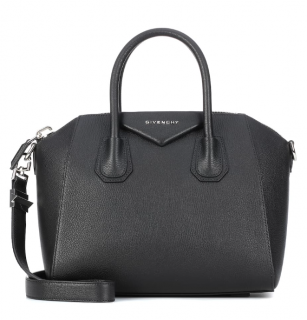 Givenchy Black Leather Small Antigona Bag