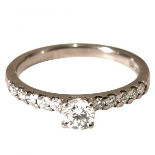 Cred Bespoke Diamond Solitaire Ring