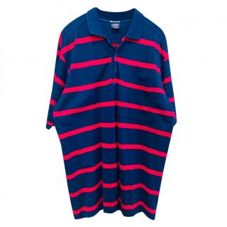 Paul & Shark mens striped polo shirt