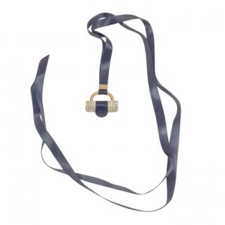 Yves Saint Laurent Muse Charm Crystal Necklace