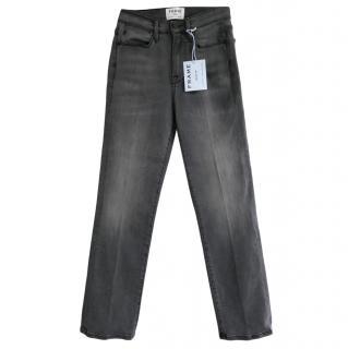 Frame Le High Straight Leg Denim Jeans