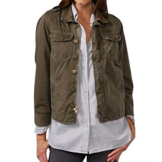 Current Elliott Khaki Soldier Jacket